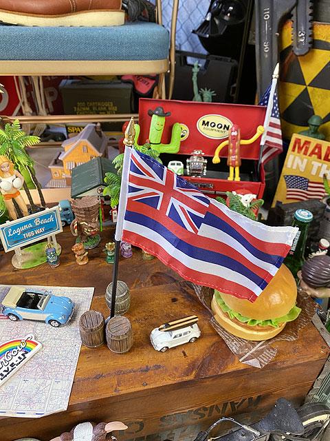 ハワイ州旗のミニフラッグ