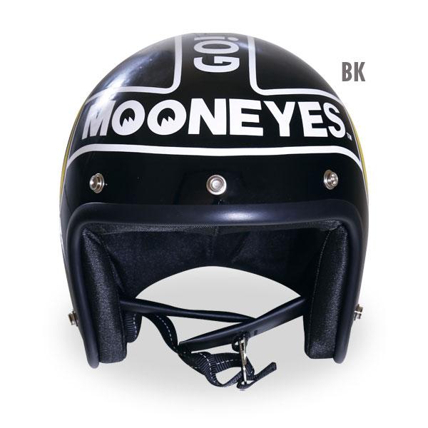 ムーンアイズヘルメット(ブラック)