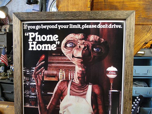 ポスターフレーム(E.T./クアーズ)