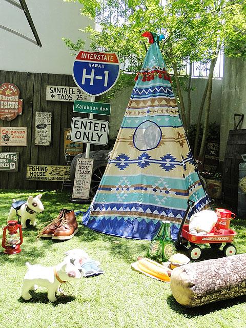 ティピーテント子供用テント