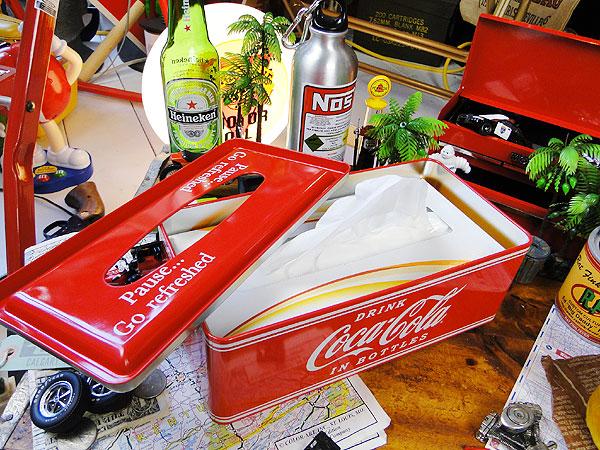 コカ・コーラブランド ティッシュケース