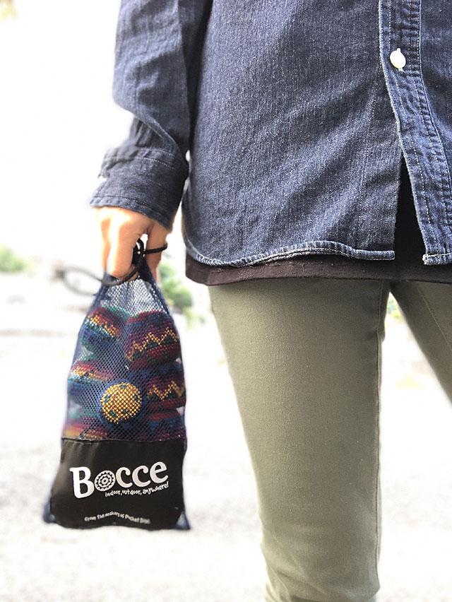 大人も子供も一緒に楽しめる地上のカーリング ボッチャ PocketDisc Bocce