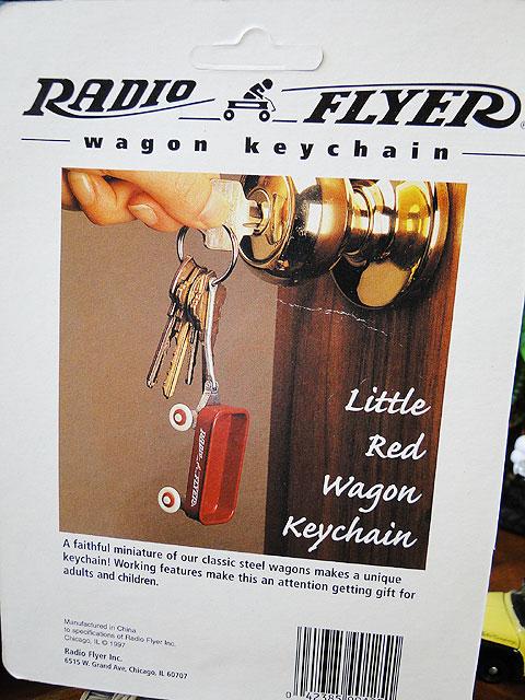 ラジオフライヤーワゴンのキーリング