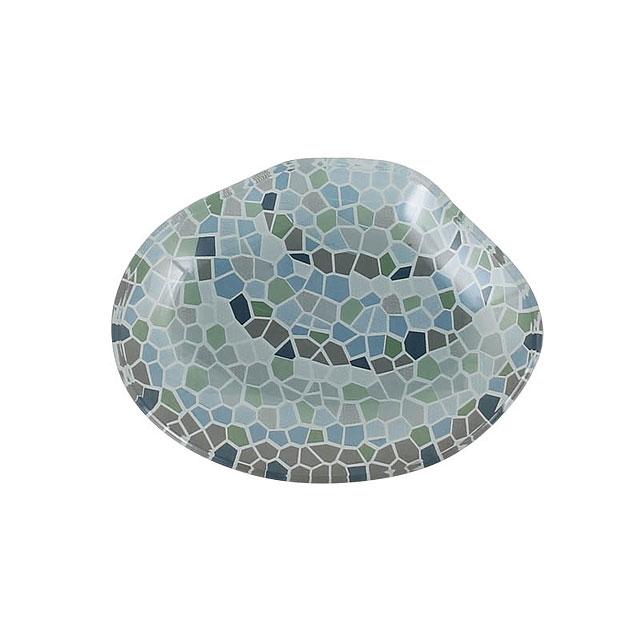 ダルトン ガラス・フィッシャリー・プレート(クラム/貝殻)