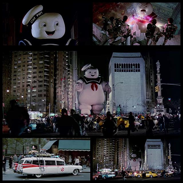 NECA 映画「ゴーストバスターズ」マシュマロマンのヘッドノッカー