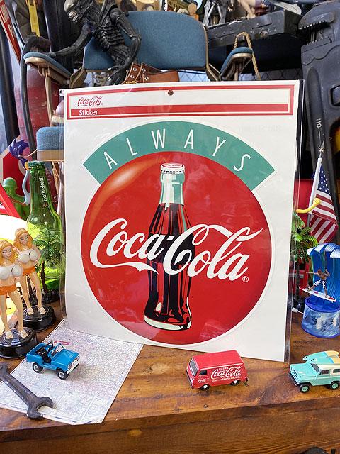 コカ・コーラのデカサイズステッカー XLサイズ(オールウェイズ)