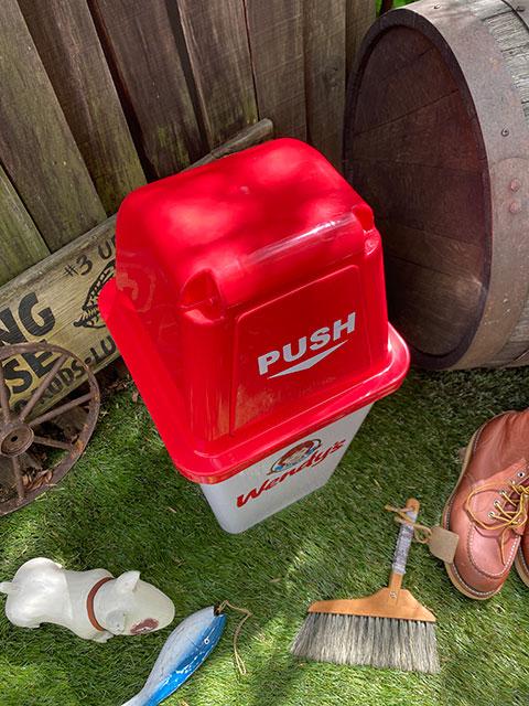 ウェンディーズのダストビン 20Lサイズ ゴミ箱(ウェンディ/ホワイト)