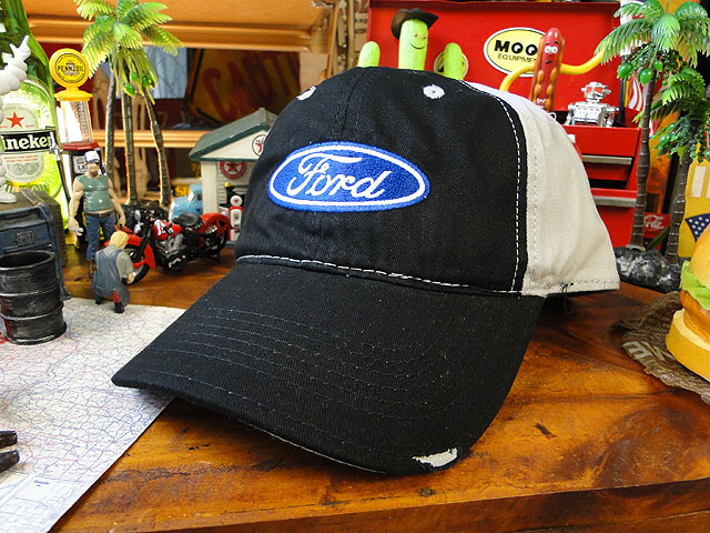 U.S.モーターライセンスキャップ(フォード/オーバルロゴ)