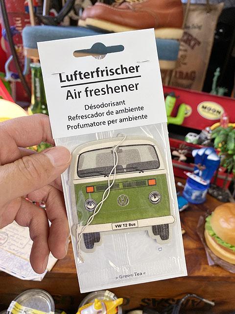フォルクスワーゲン・エアーフレッシュナー(ワーゲンバス/グリーン)