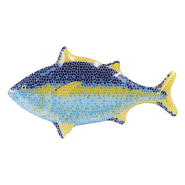 ダルトン ガラス・フィッシャリー・プレート(ツナ/大きな魚の方)