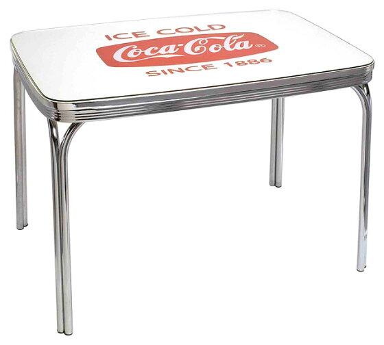 コカ・コーラブランド ダイナーテーブル(グラストップ付き)