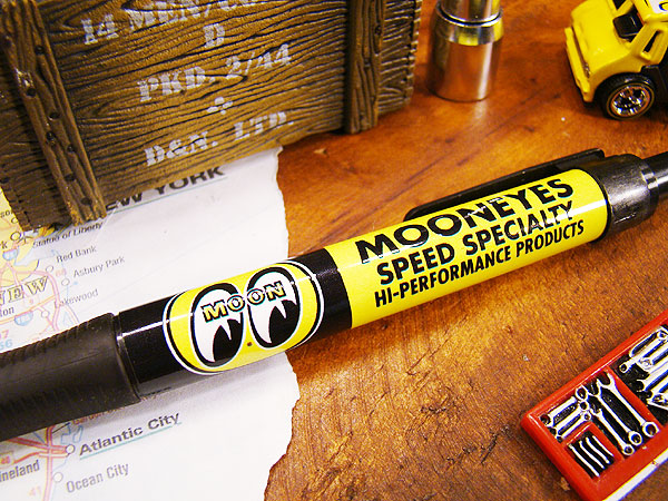 ムーンアイズのボールペン