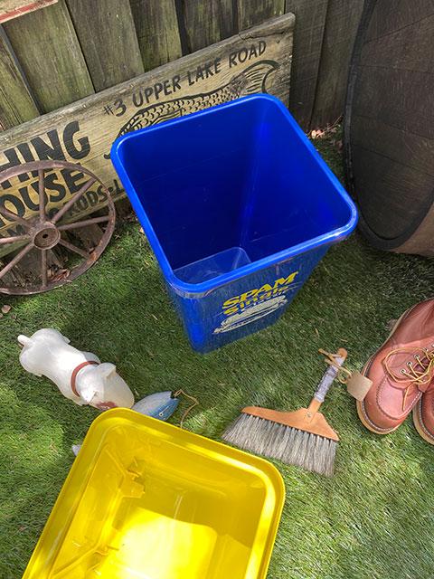 スパムのダストビン 20Lサイズ ゴミ箱