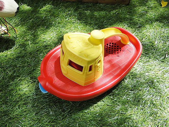 グリーントイズアメリカの子供のオモチャ働く乗り物(タグボート)