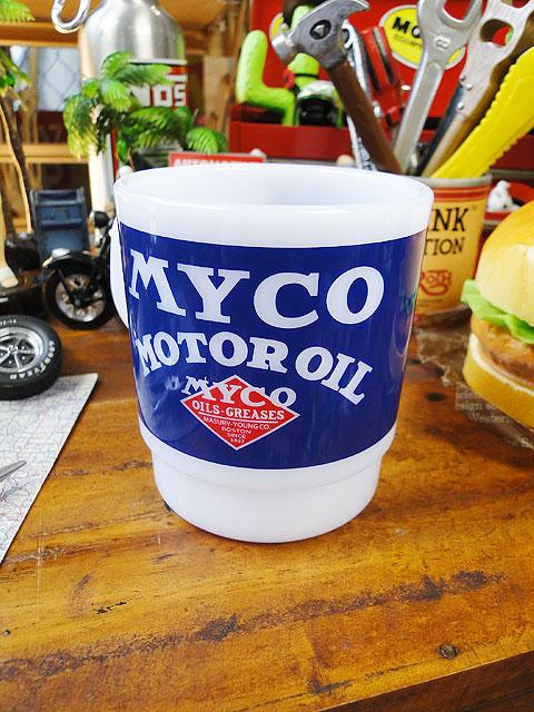 ミルキースタッキングプラスチックマグ(MYCO)