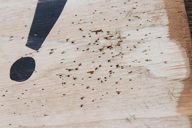 カウボーイに告ぐ!の木製看板