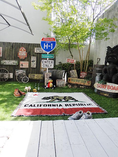 カリフォルニア州旗のジャイアントラグ