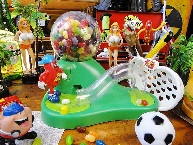 ミスタージェリーベリーのサッカービーンマシーン