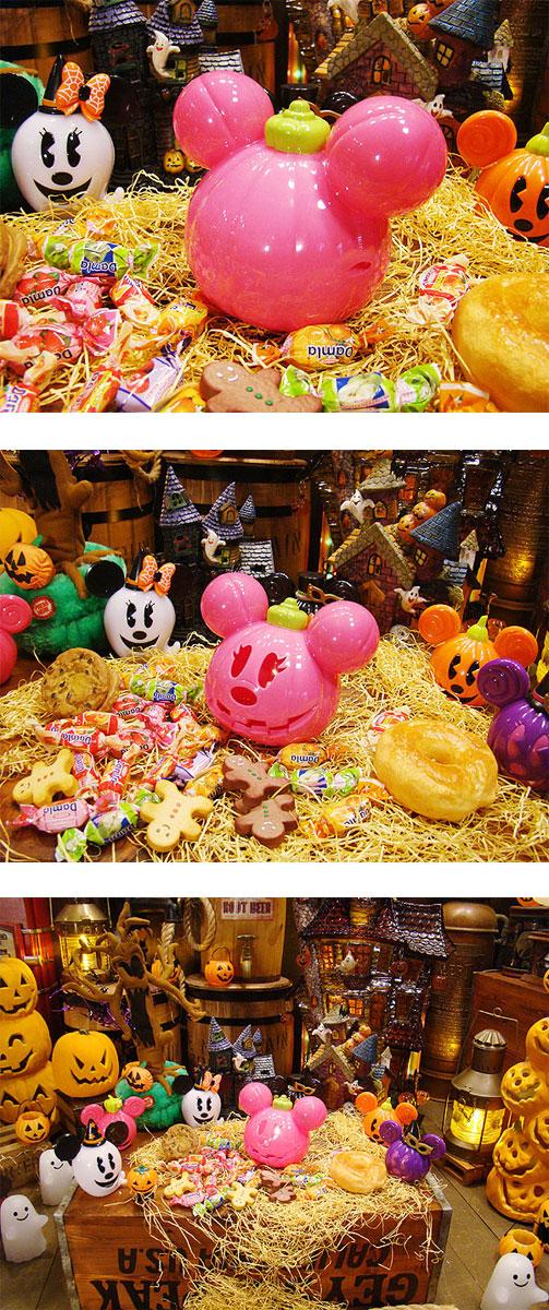 ハロウィングッズ ディズニーのハロウィンランタン(ミニーマウス)
