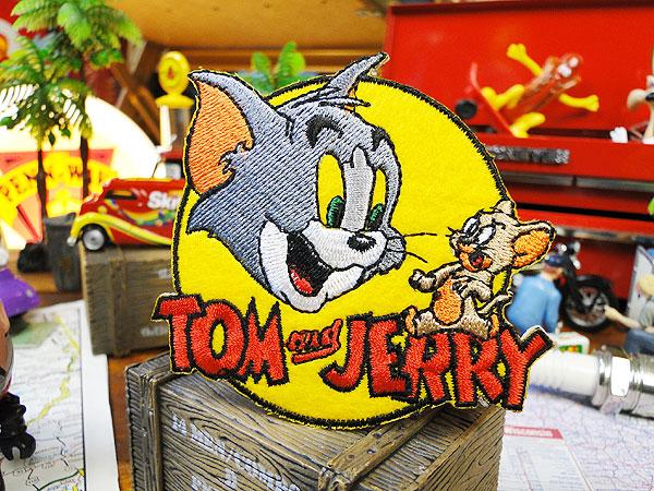 キャラクターワッペン(トムとジェリー)