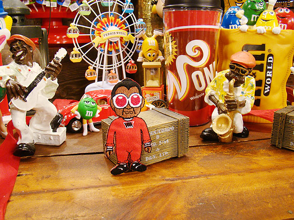 チャーリーとチョコレート工場 ウンパ・ルンパのワッペン