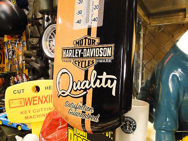 ハーレーダビッドソンのクラシックサーモメーター