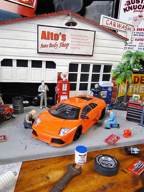Jada 映画「ワイルドスピード」のダイキャストモデルカー 1/24スケール(ローマン/ランボルギーニ・ムルシエラゴ LP640)