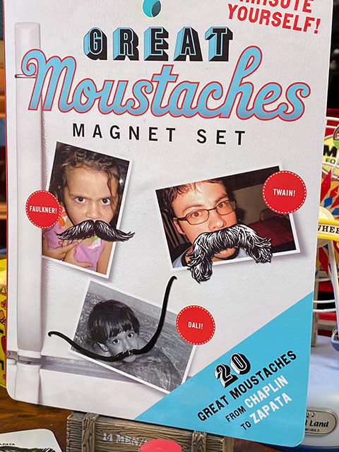 おもしろ写真変装アイテム! グレートマスタッシュ・マグネットセット 20種類入り