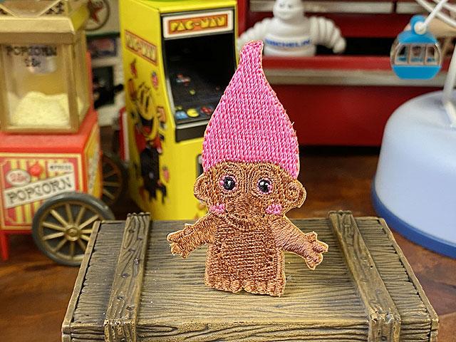 クラシックキャラクターワッペン ミニサイズ(トロール人形)