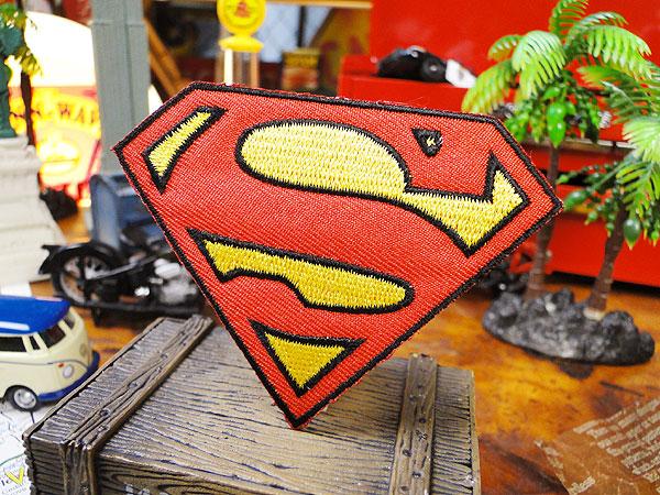 キャラクターワッペン(スーパーマン)