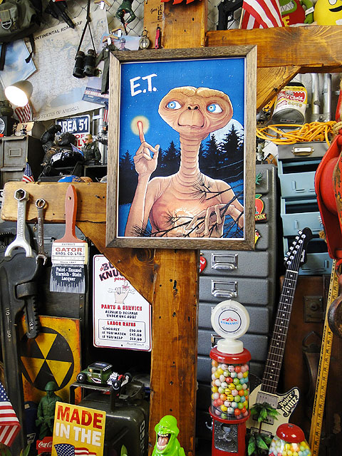 ポスターフレーム(E.T./ヒーリング)