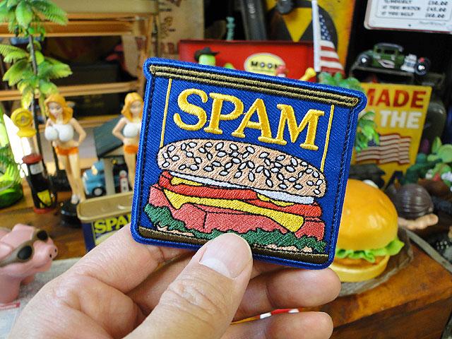 スパムのオフィシャルワッペン(スパム缶)