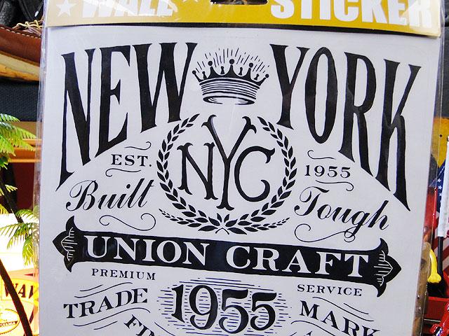 アメリカンウォールステッカー(ニューヨーク1955)