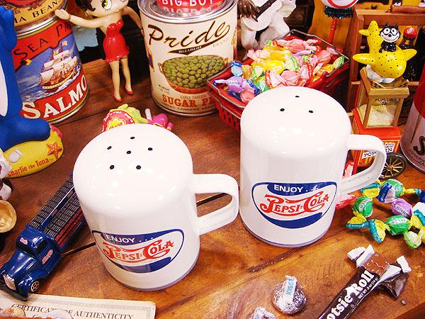 ペプシコーラのソルト&ペッパーシェーカー 2個セット