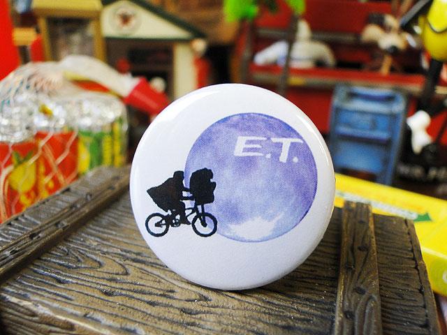 E.T.のカンバッジ