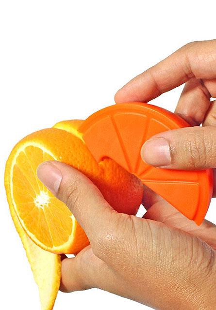 オレンジみたいなフルーツピーラー