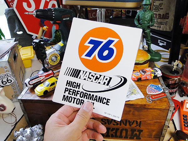 ユノカル76のレーシングステッカー(NASCAR)