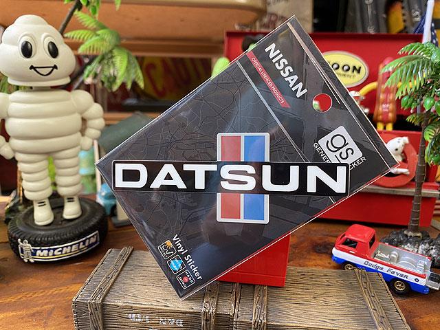 ダットサンのオフィシャルロゴステッカー(1983年ダットサン・ピックアップ720/034)