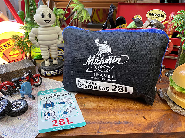 ミシュラン パッカブル・ボストンバッグ 28L Mサイズ 折り畳みボストン