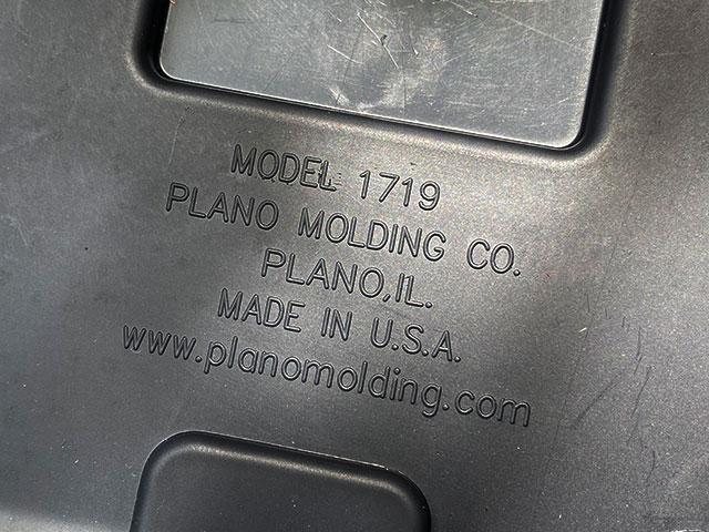 プラノ スポーツマントランク Mサイズ 64L(ブラック)