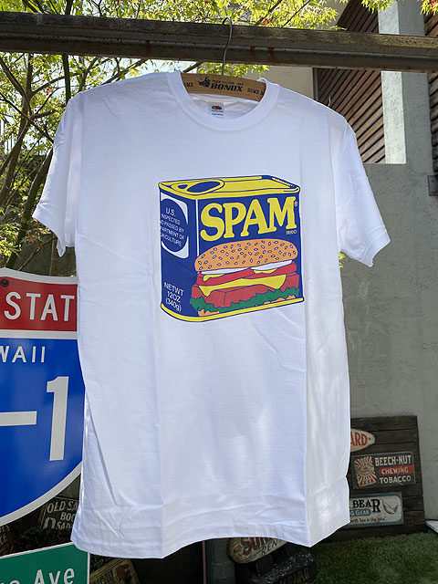 スパムのオフィシャルTシャツ(スパム缶)