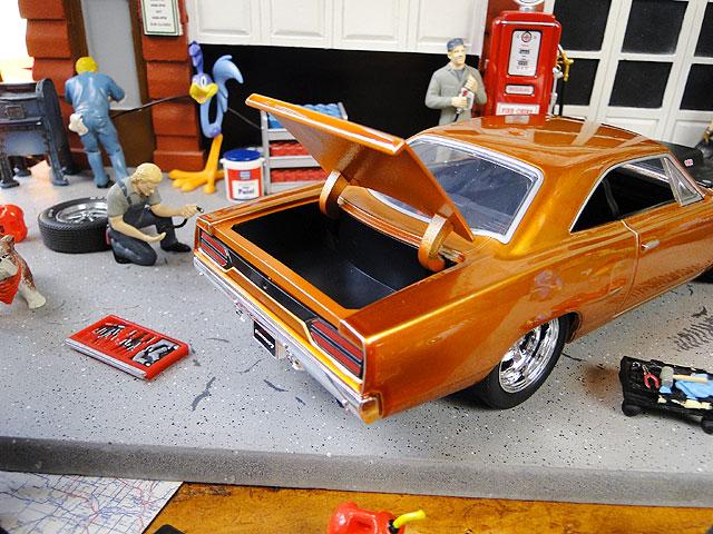 Jada 映画「ワイルドスピード」のダイキャストモデルカー 1/24スケール(ドム/プリムス・ロードランナー1970オレンジ)
