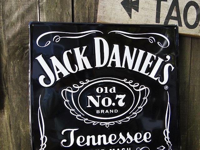 ド迫力!特大サイズ看板ジャック・ダニエルのビッグサイズサインブラックラベル