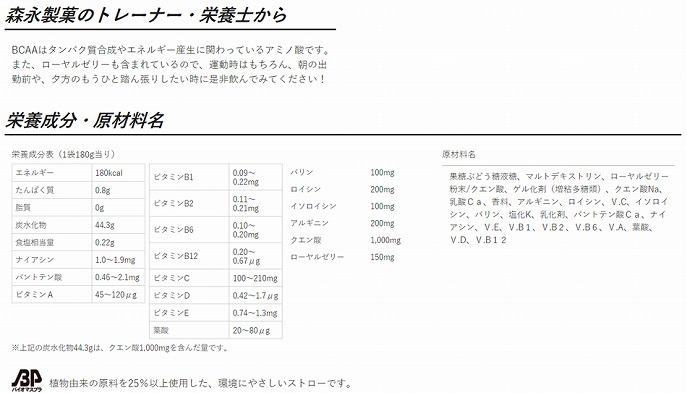 【森永製菓】 ウイダー in ゼリー ローヤルゼリー 栄養ドリンク味 180g [6個セット] Weider バランス栄養食 10秒チャージ エネルギー補給