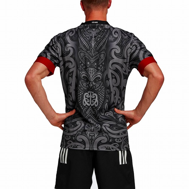 【ALL BLACKS】 adidas アディダス マオリ オールブラックス ジャージ ラグビージャージ 2020/21 ラグビー JIK40