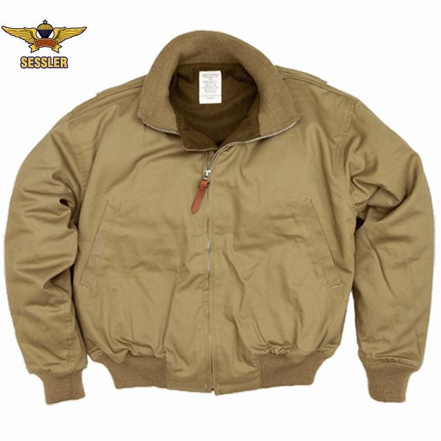 SESSLER(セスラー)Tankers Jacket 後期型 Khaki[コットンシェル]【中田商店】