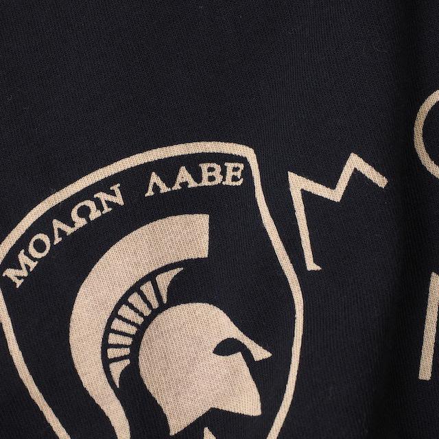 【Military Style/ミリタリースタイル】ΜΟΛΩΝ ΛΑΒΕ モーロン ラヴェ Molon labe スパルタン ショートスリーブ Tシャツ[4色]