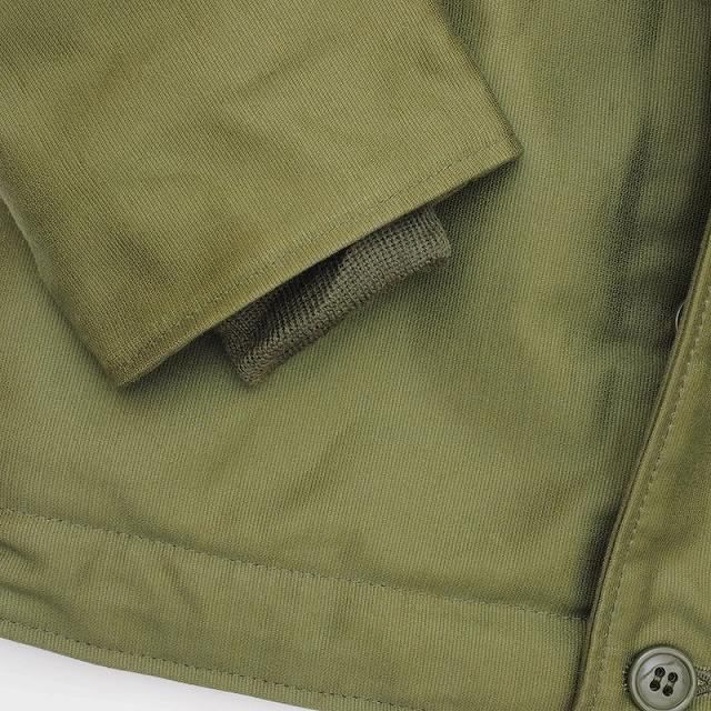 HOUSTON(ヒューストン)N-1 デッキジャケット オリーブ【送料無料】