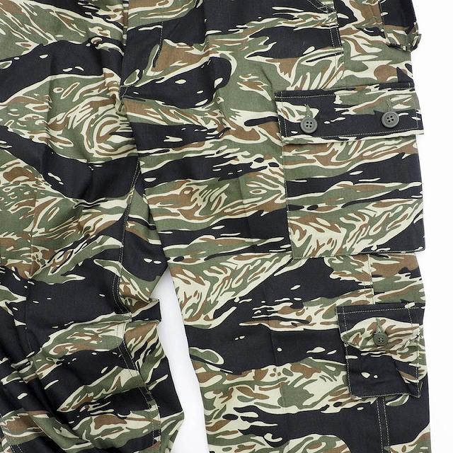 SESSLER(セスラー)Vietnam Tiger Stripe Trousers 7 Pocket Black Tiger ベトナム タイガーストライプ トラウザー [コットン100%][ブラックタイガー]【中田商店】