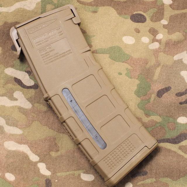 US(米軍放出品)Magpul PMAG 30 AR/M4 GEN M3 Window 5.56×45 Magazine MCT 30連発 マガジンアッセンブリー